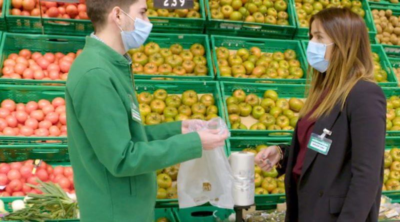 Mercadona cumple con su compromiso y elimina las bolsas de plástico de un solo uso en todas sus tiendas,