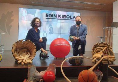 Egin Kirola pone al alcance de niños y niñas el deporte de manera fácil, divertida, entretenida y variada,