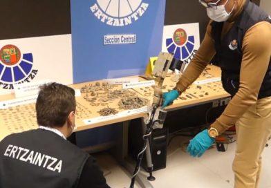 Realizan una nueva operación contra el expolio arqueológico en Araba,